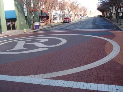 Textured Pavement - Streetprinting/Stamping