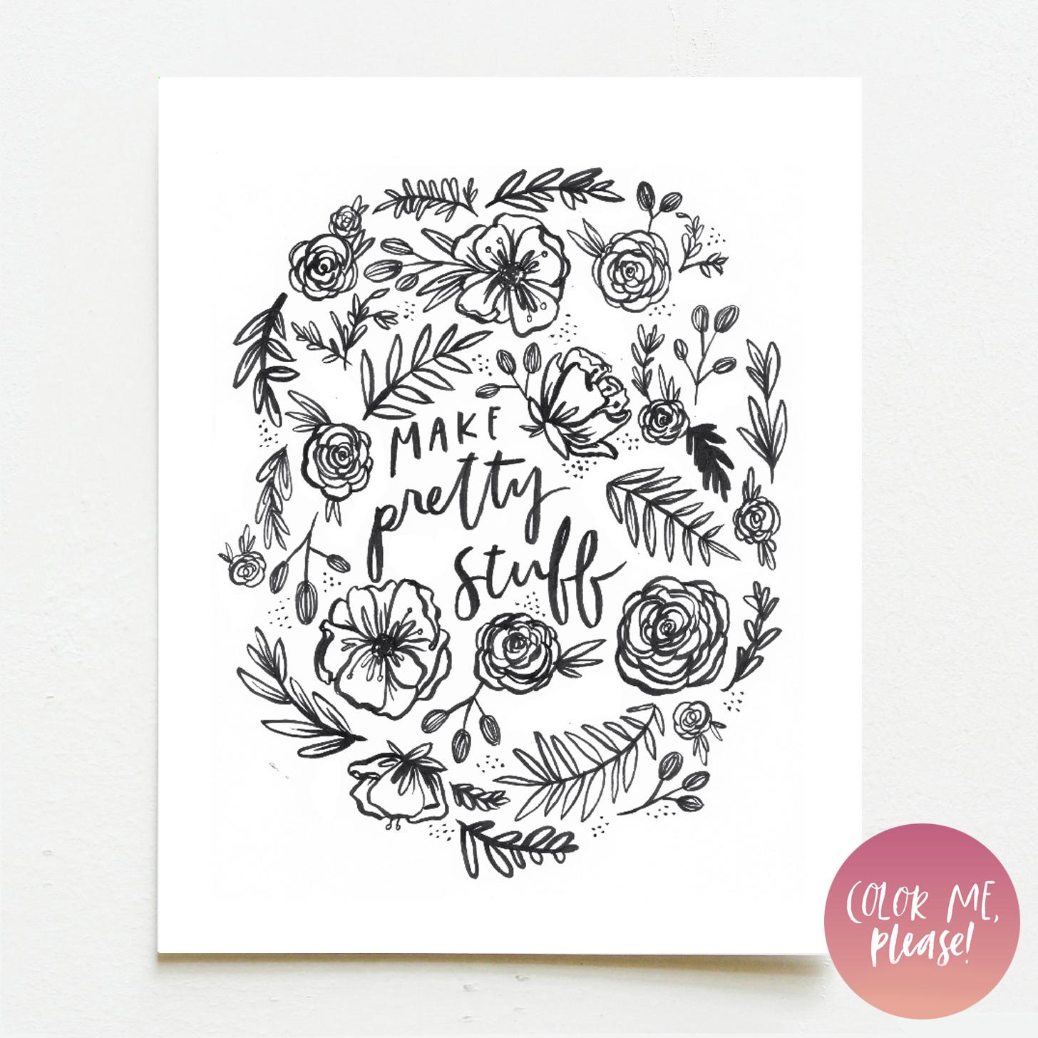 Color Me, Please | Make Pretty Stuff — Wink Wink Paper Co.