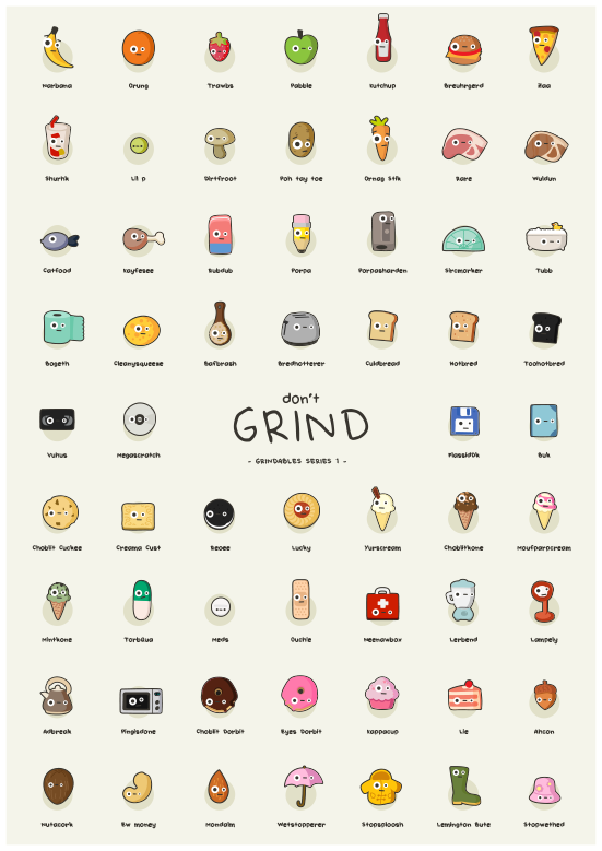 Grindables - Series 1