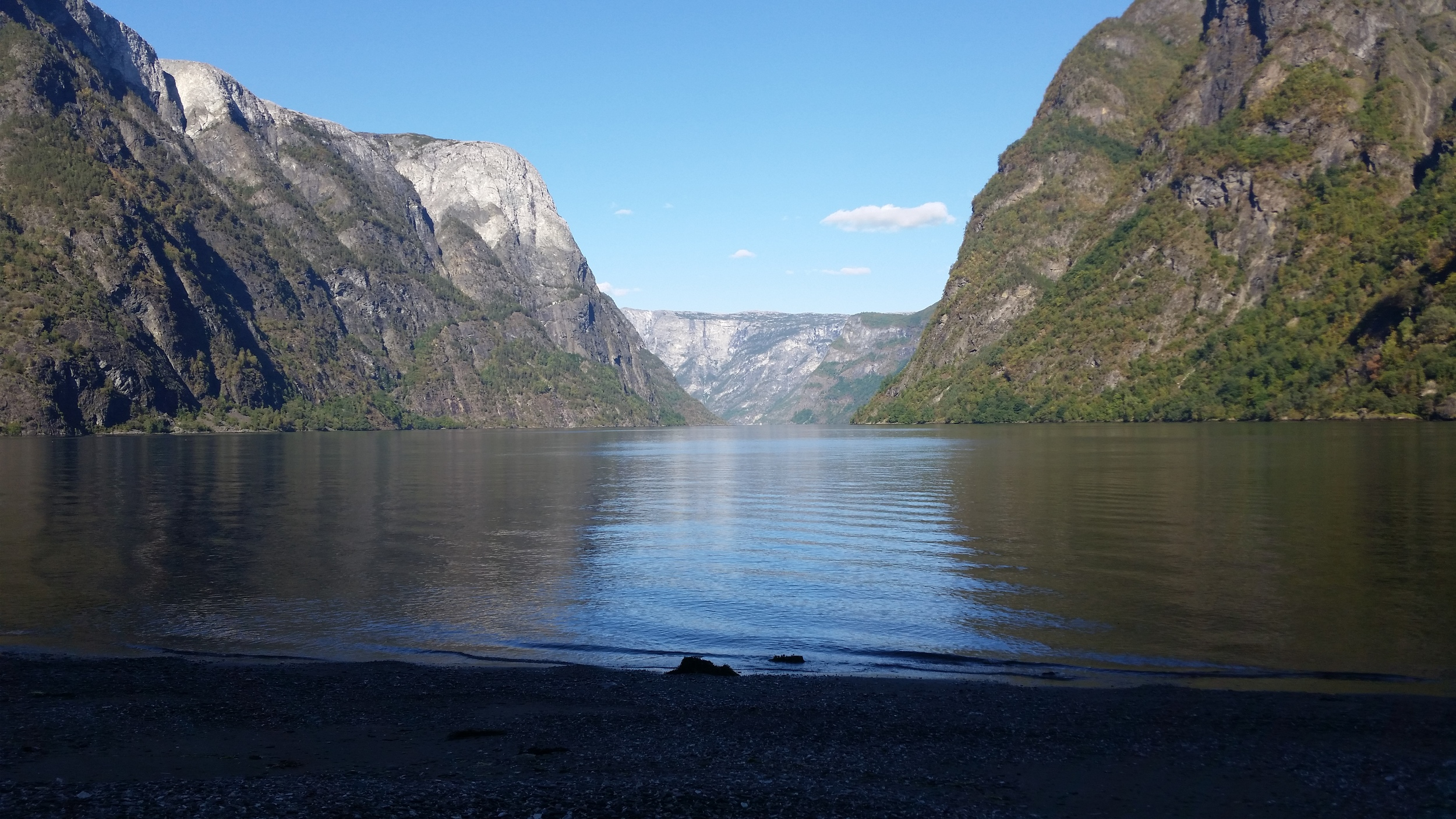 Our fjord camp