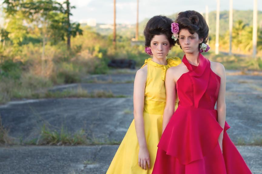 designer: ns designs  models: sahira & maria fabiola