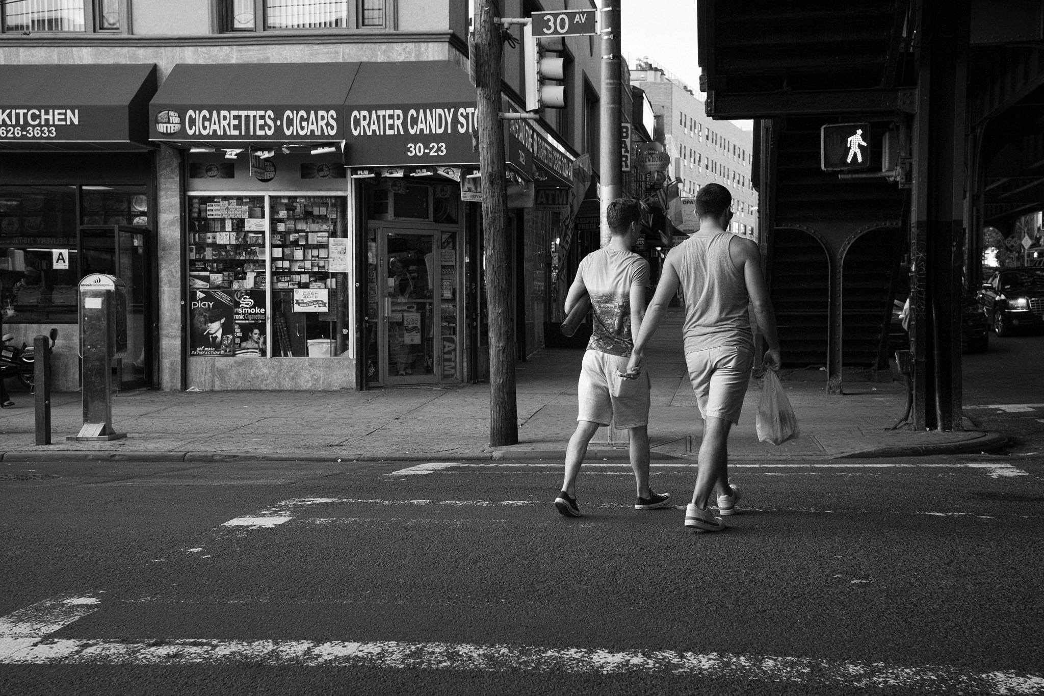 Love in Queens, July 2014.