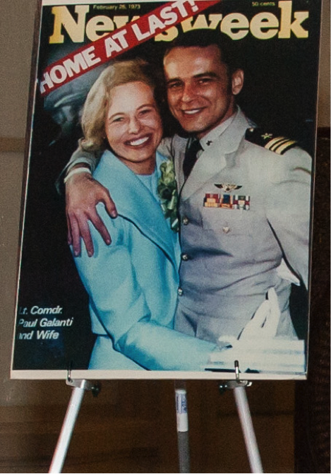 Phyllis and Paul Galanti, 1973.