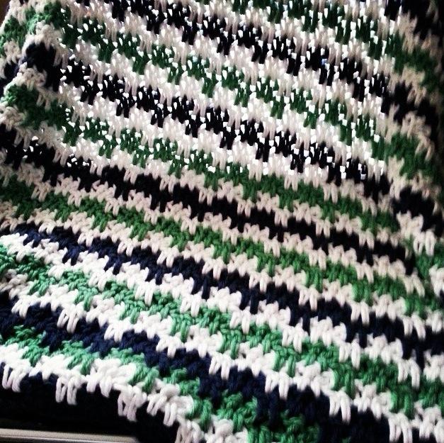 Winter Baby Blanket from carlalockwood