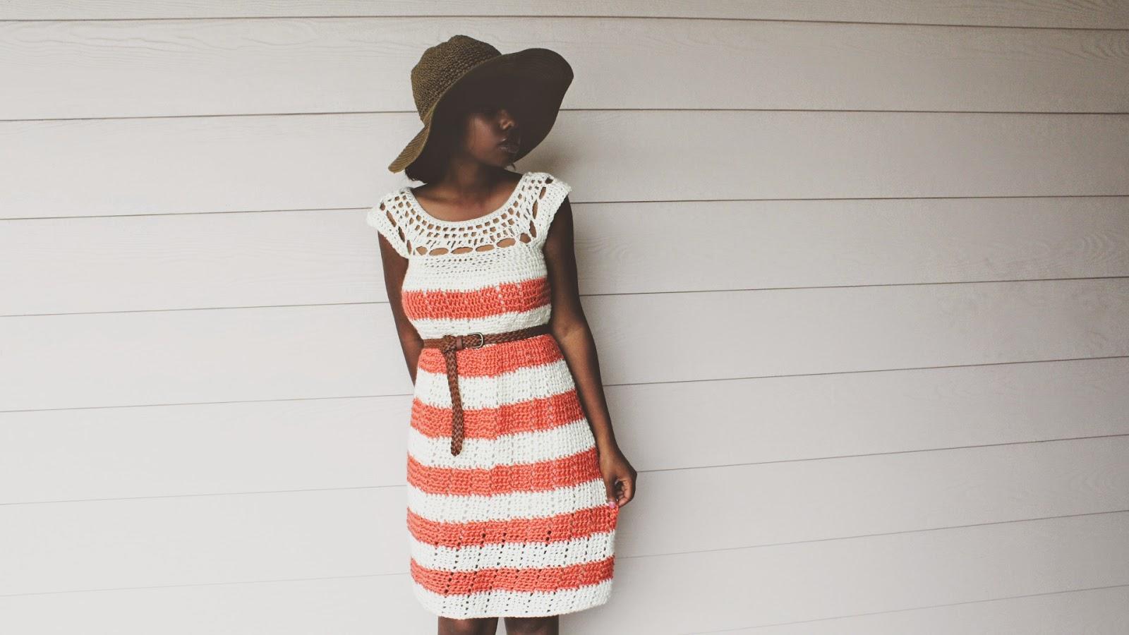 Gardenia, the Crochet Dress