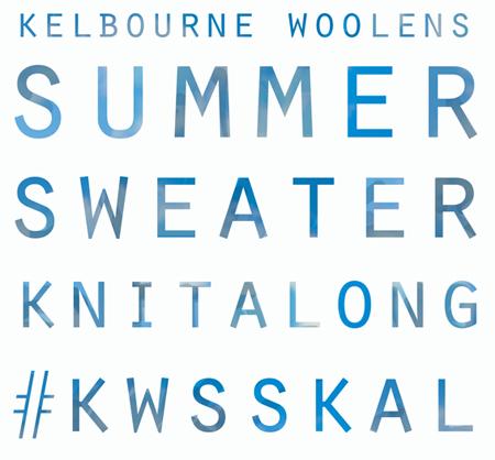 Kelbourne Woolens Summer Sweater Knitalong