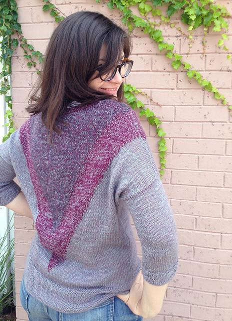 Sombra sweater in Fibre Company Meadow