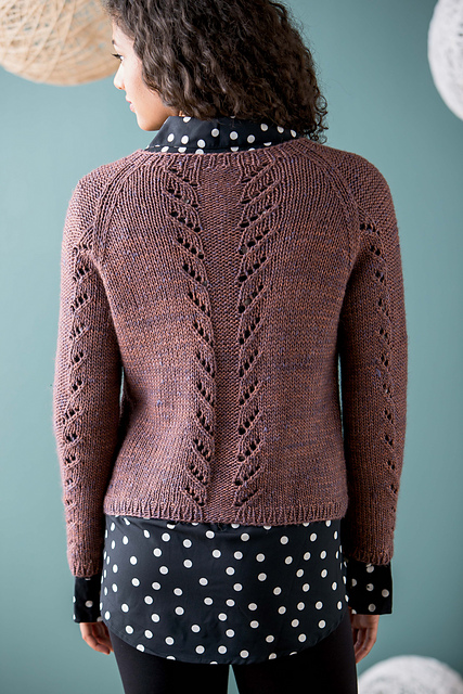Lupinius Cardigan by Beatrice Perron Dahlen