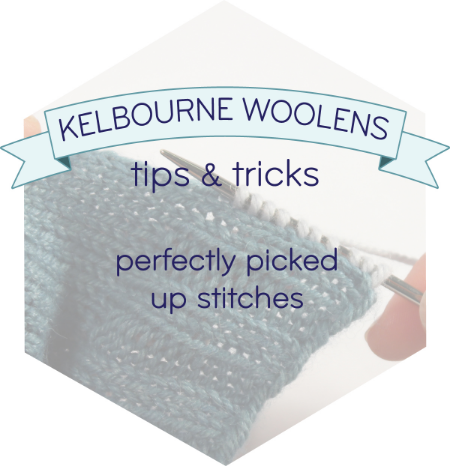 KW Tips + Tricks: Picked up stitches
