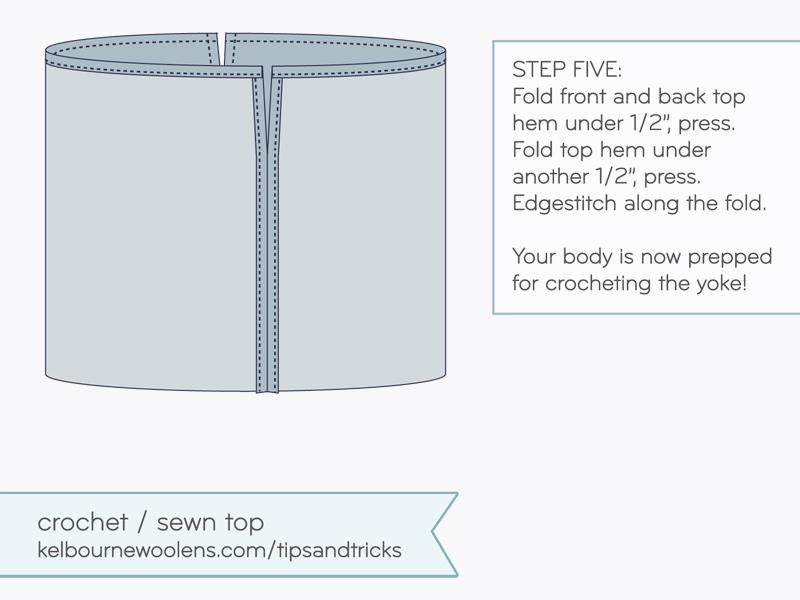KW Tips + Tricks: Crochet / Sewn Tee