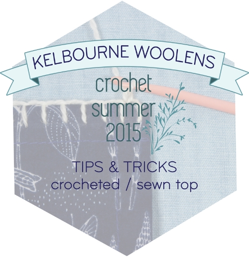 KW Tips + Tricks: Crochet / sewn top