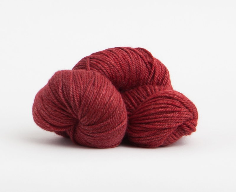 Passion Flower in Canopy Worsted from The Fibre Co. Distributed in N. America by Kelbourne Woolens