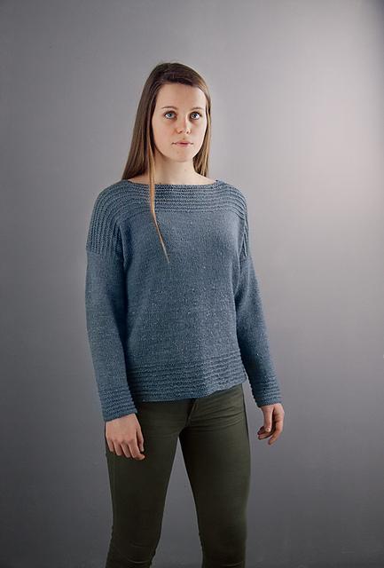 Comfy Drop Shoulder Sweater by Megan Goodacre