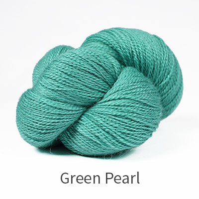 The Fibre Co Road to China Lace Green Pearl