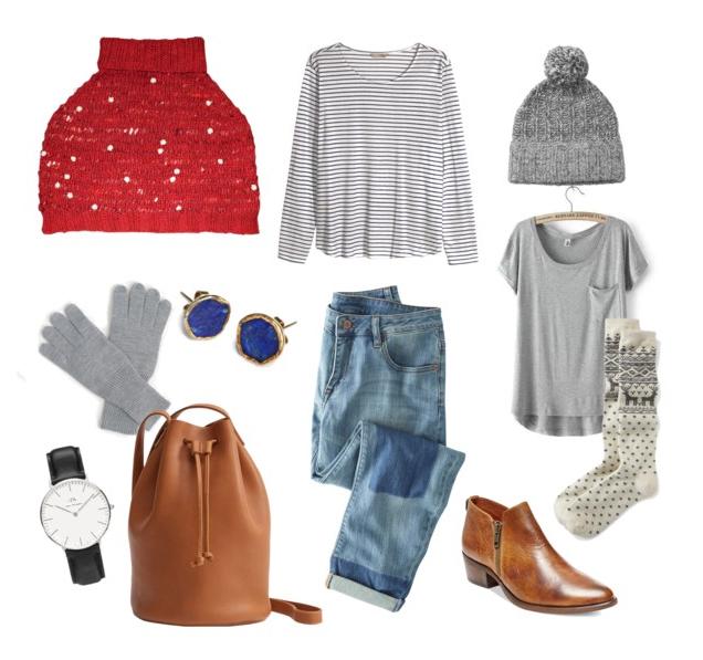 KW Style It: Daisy Chain Shoulderette Cosy Winter Weekend