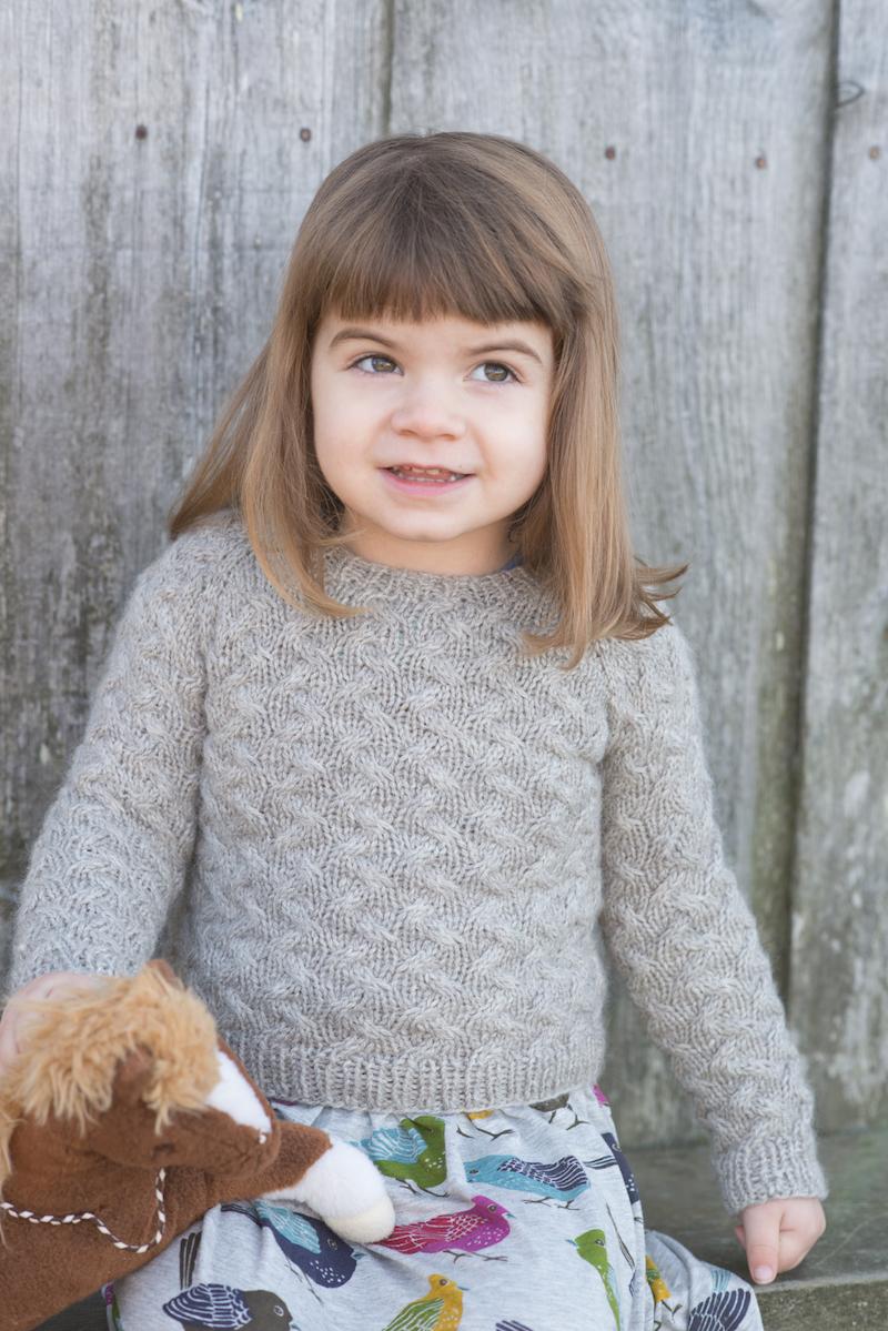 Little Coastal Pullover by Hannah Fettig