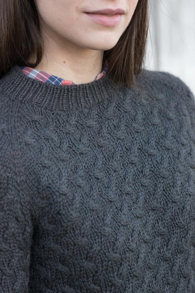 Coastal Pullover by Hannah Fettig