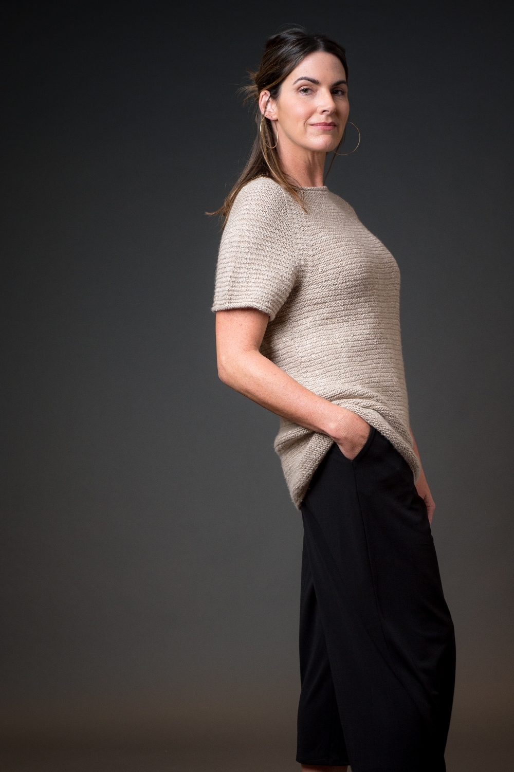 Seal Point Tunic by Leah McGlone