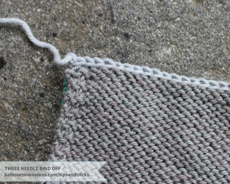KW Tips + Tricks: three needle bind off