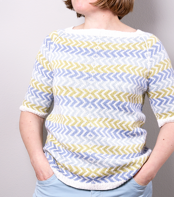 kaiso pullover by cheryl chow