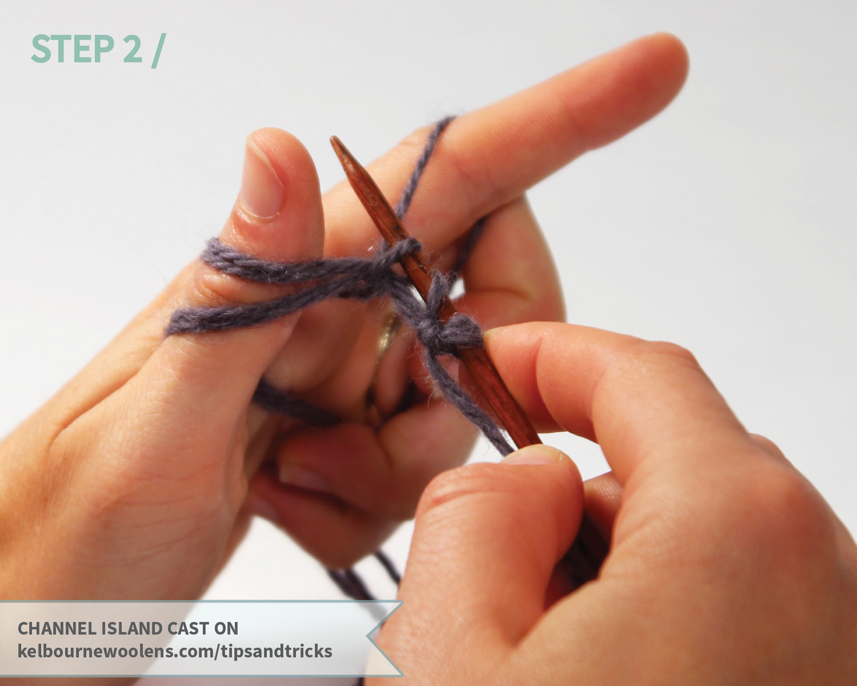 KW Tips + Tricks: Channel Island Cast On