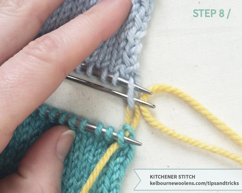 KW Tips + Tricks: Kitchener Stitch