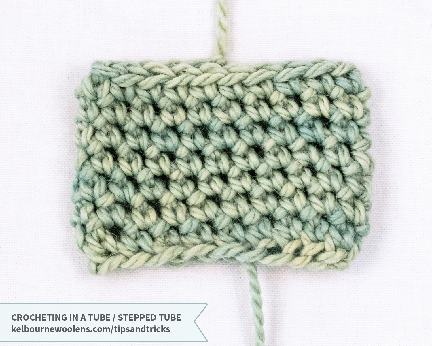 KW Tips and Tricks: Crocheting in a Tube / Stepped