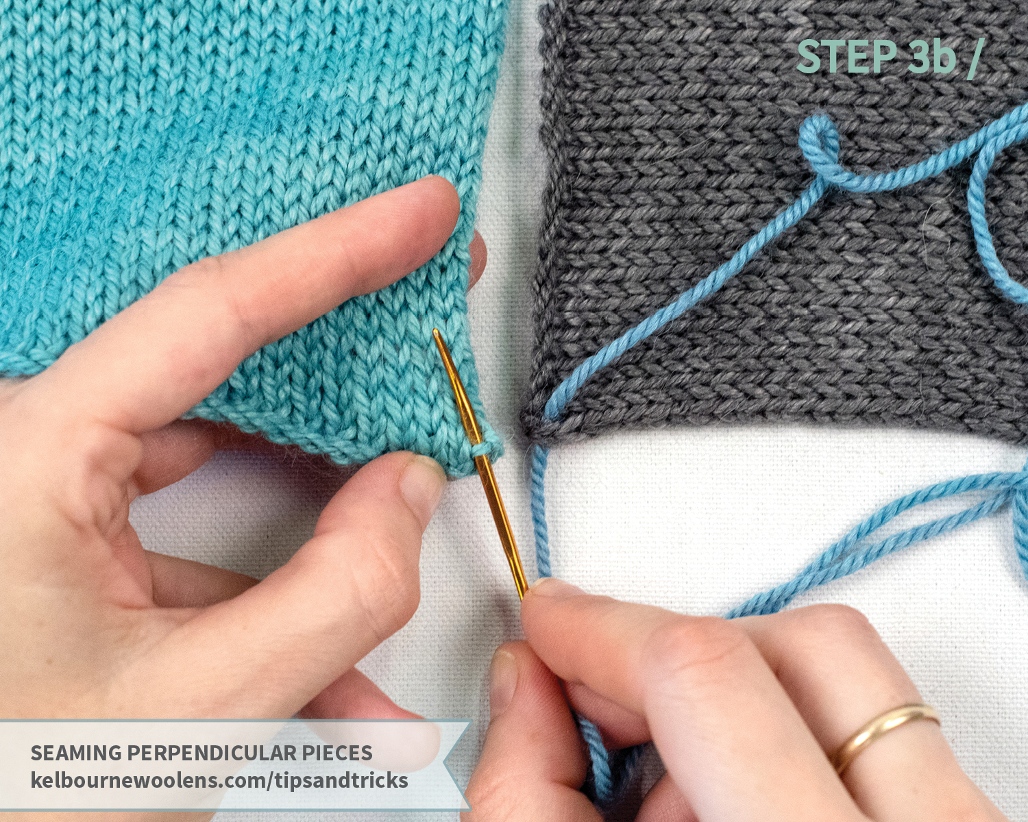 KW Tips + Tricks: Seaming Perpendicular Pieces