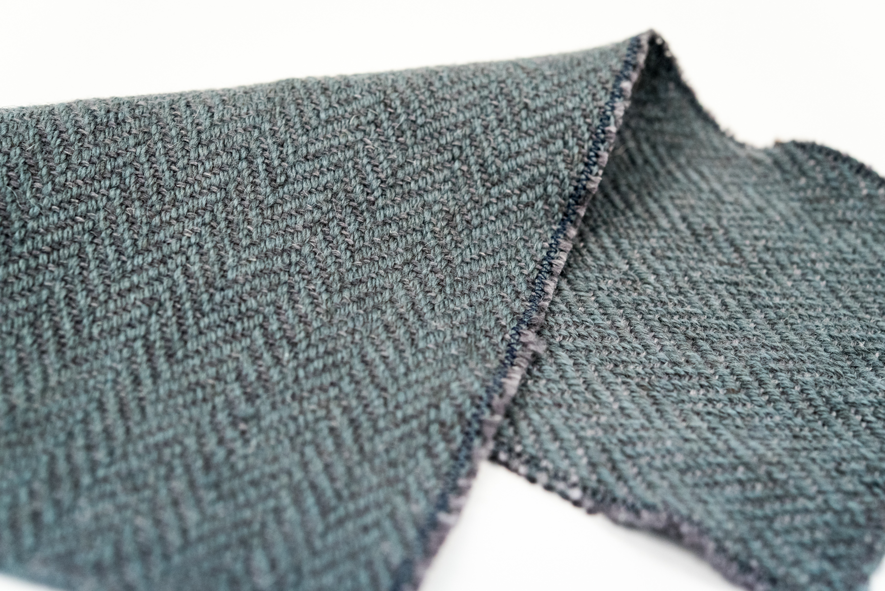 Twill in The Fibre Co. Meadow and Cumbria