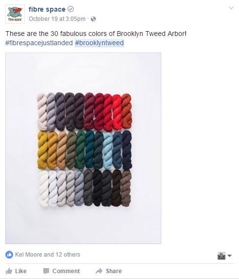 fibre space brooklyn tweed arbor