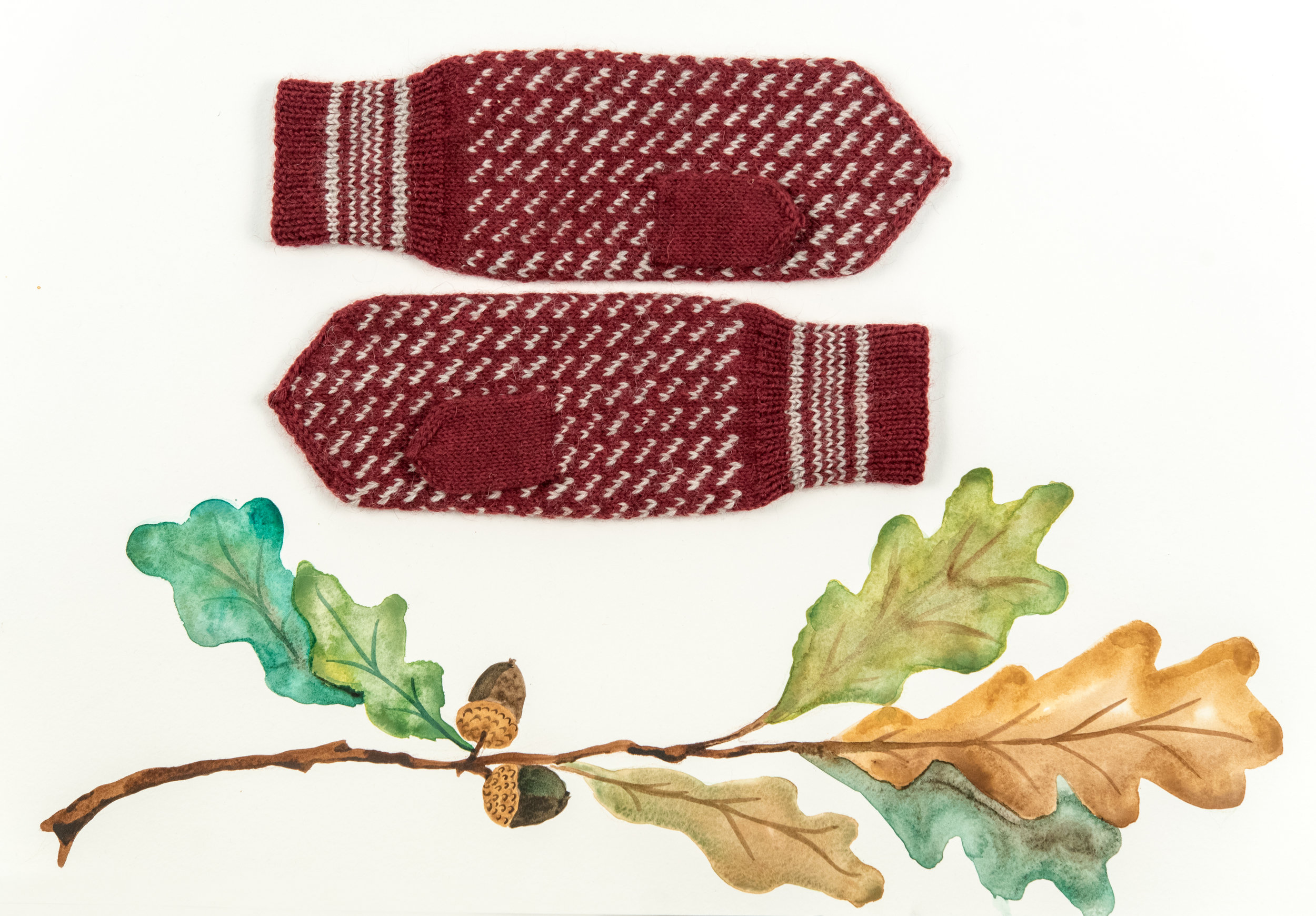 Kelbourne Woolens Year of Mittens November Mitten
