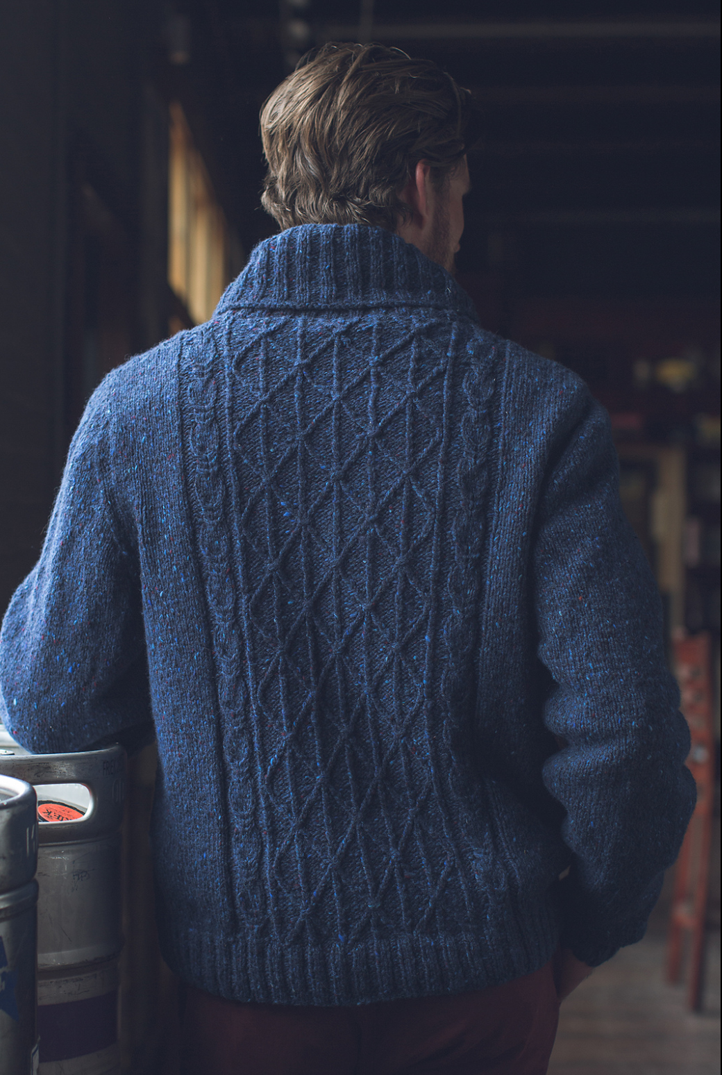 Interweave Knits Winter 2016 Donegal Sweater in The Fibre Co. Arranmore
