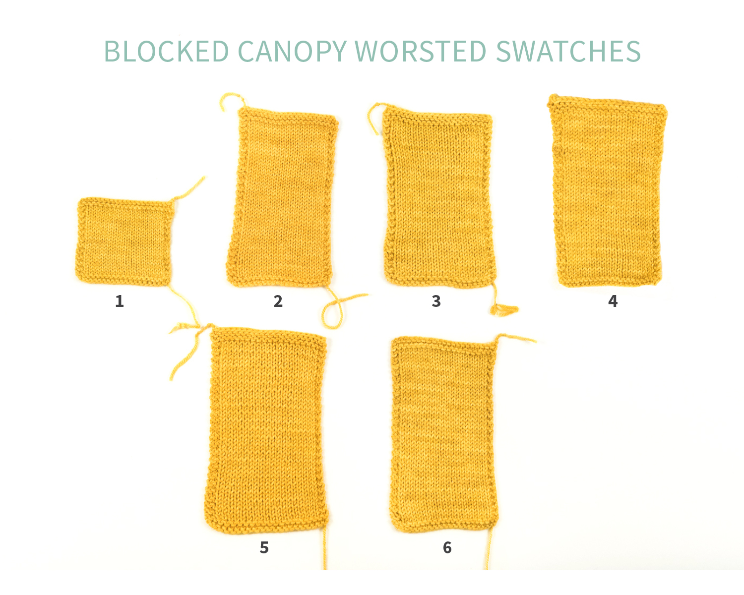 KW Swatch Experiment: Canopy Worsted