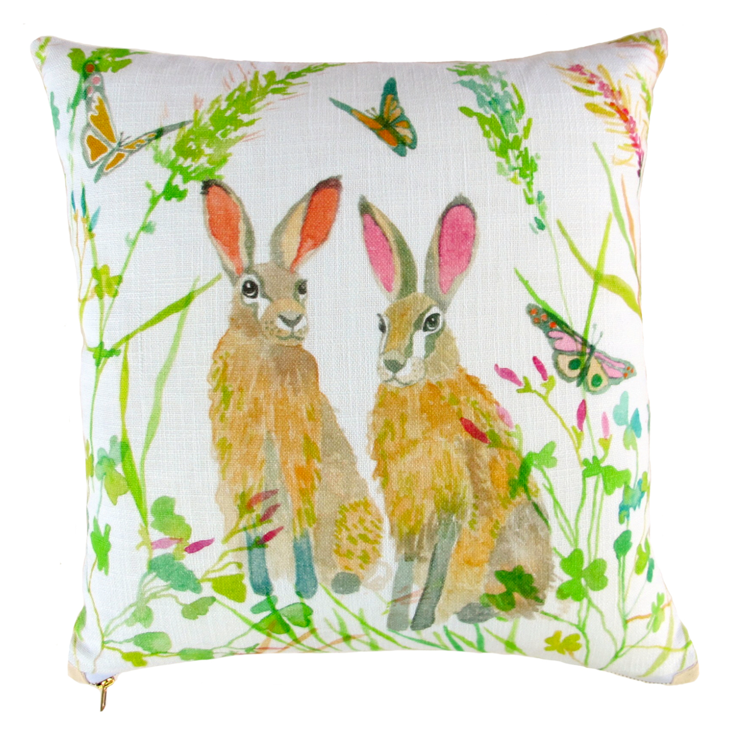 Hare Pillow by Betsy Olmsted