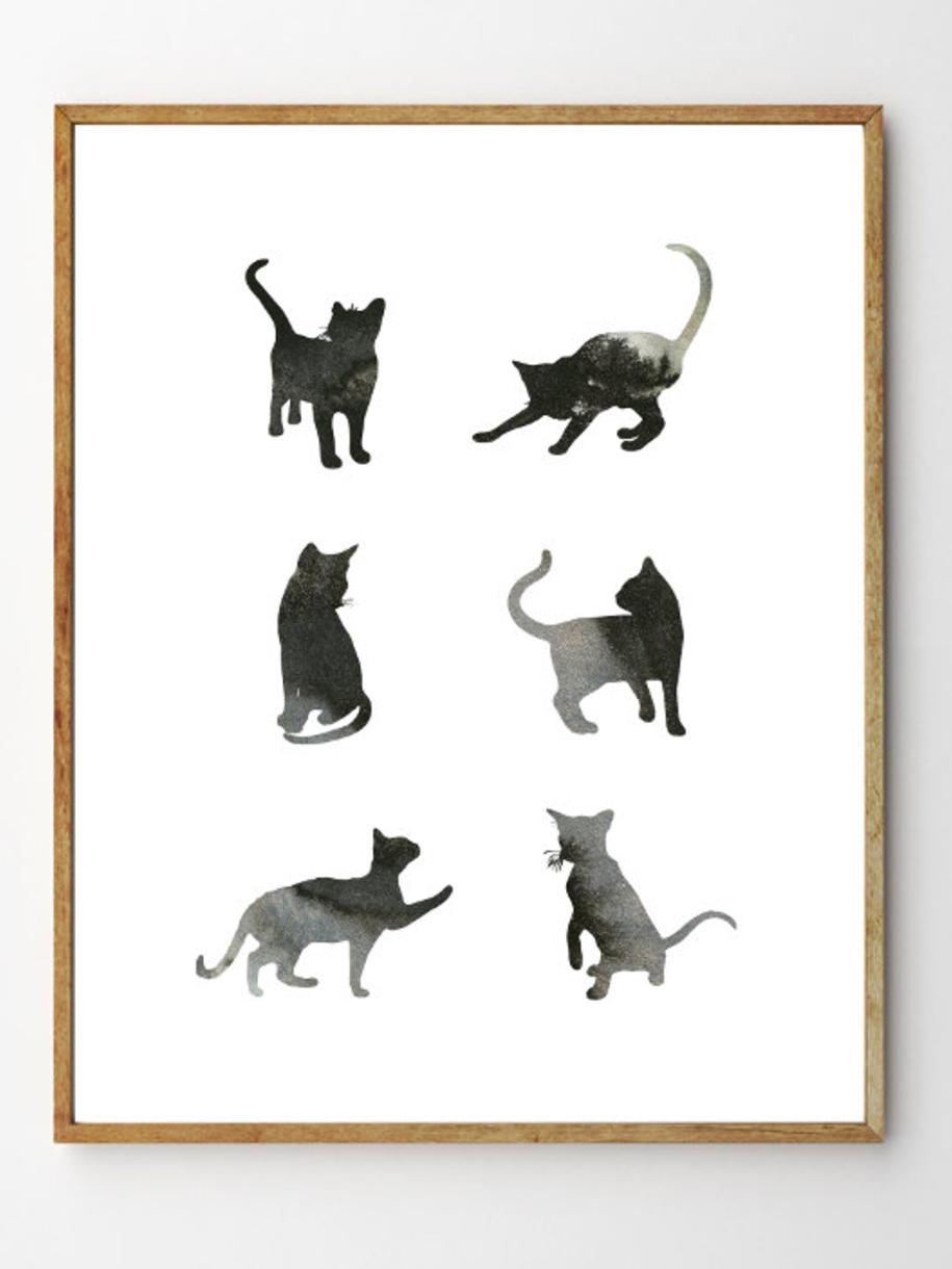 Six Cats - Stellaire Studio