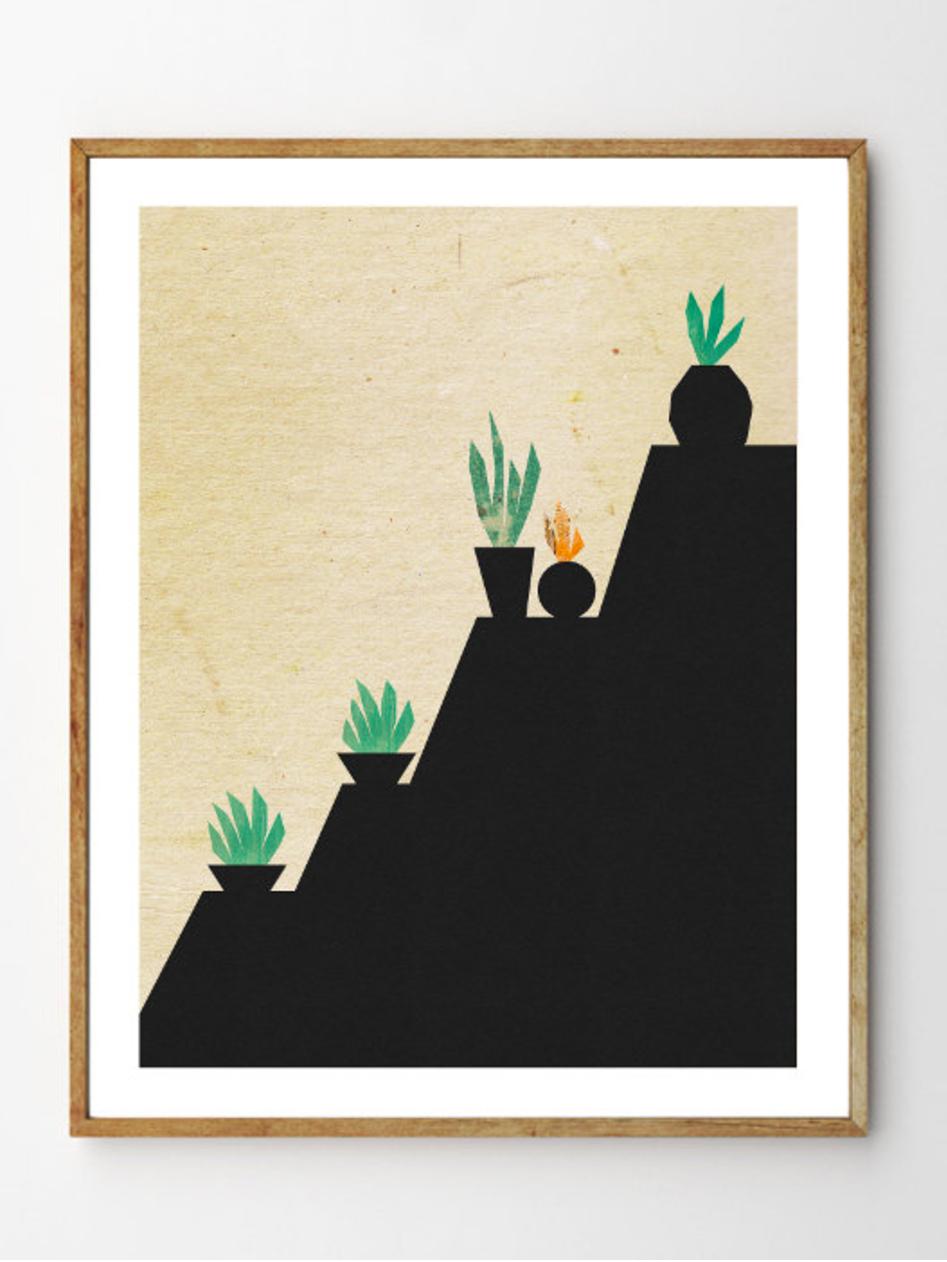 Succulents No. 2 - Stellaire Studio
