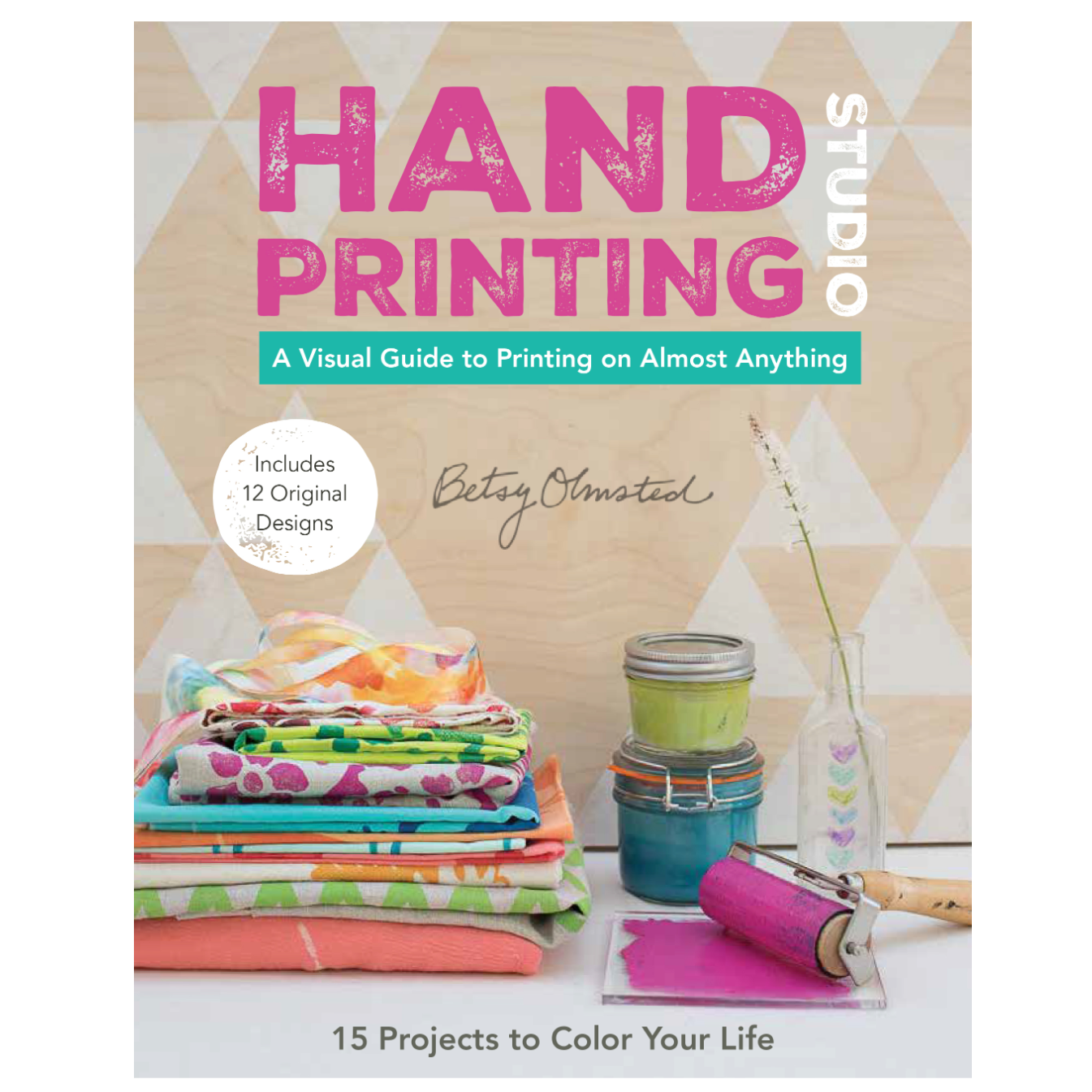 Hand Printing Studio Betsy Olmsted