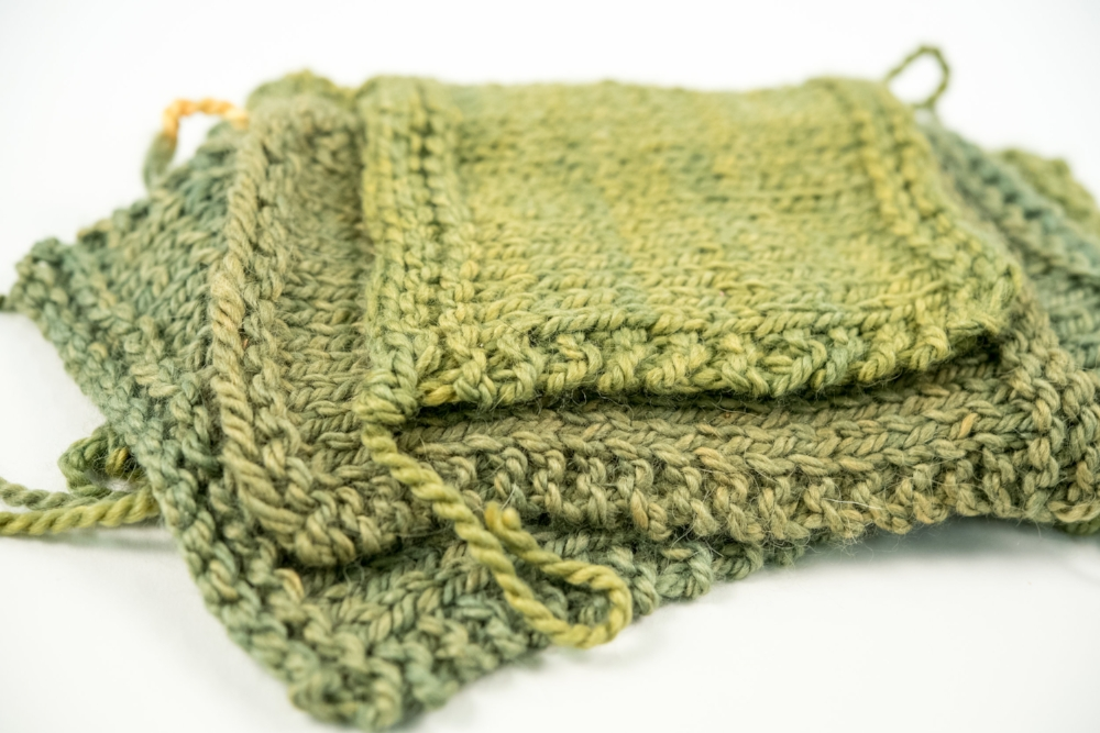 KW Swatch Experiment: The Fibre Co. Tundra