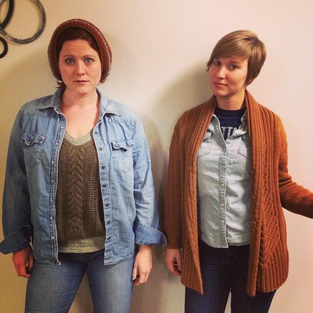 Lisa and Hannah Baker 2014.jpg
