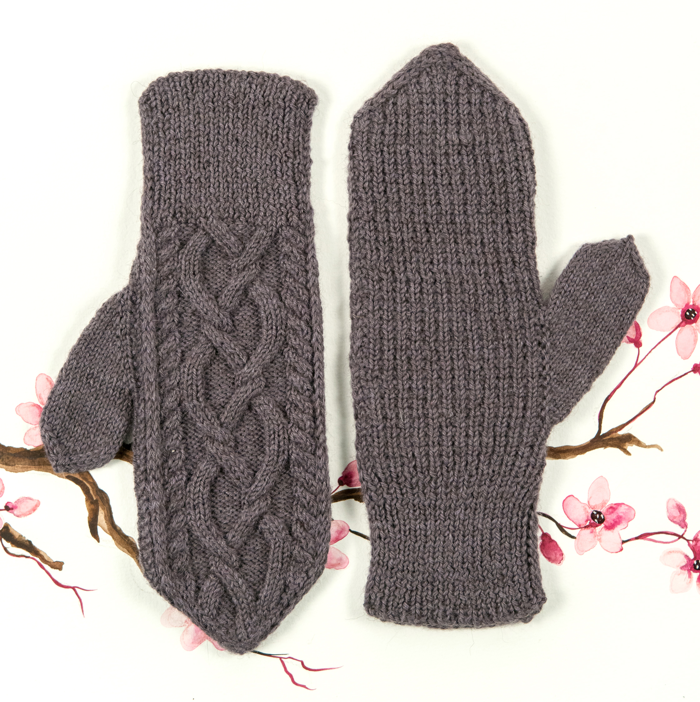 KW Year of Mittens: April Mitten by Meghan Kelly