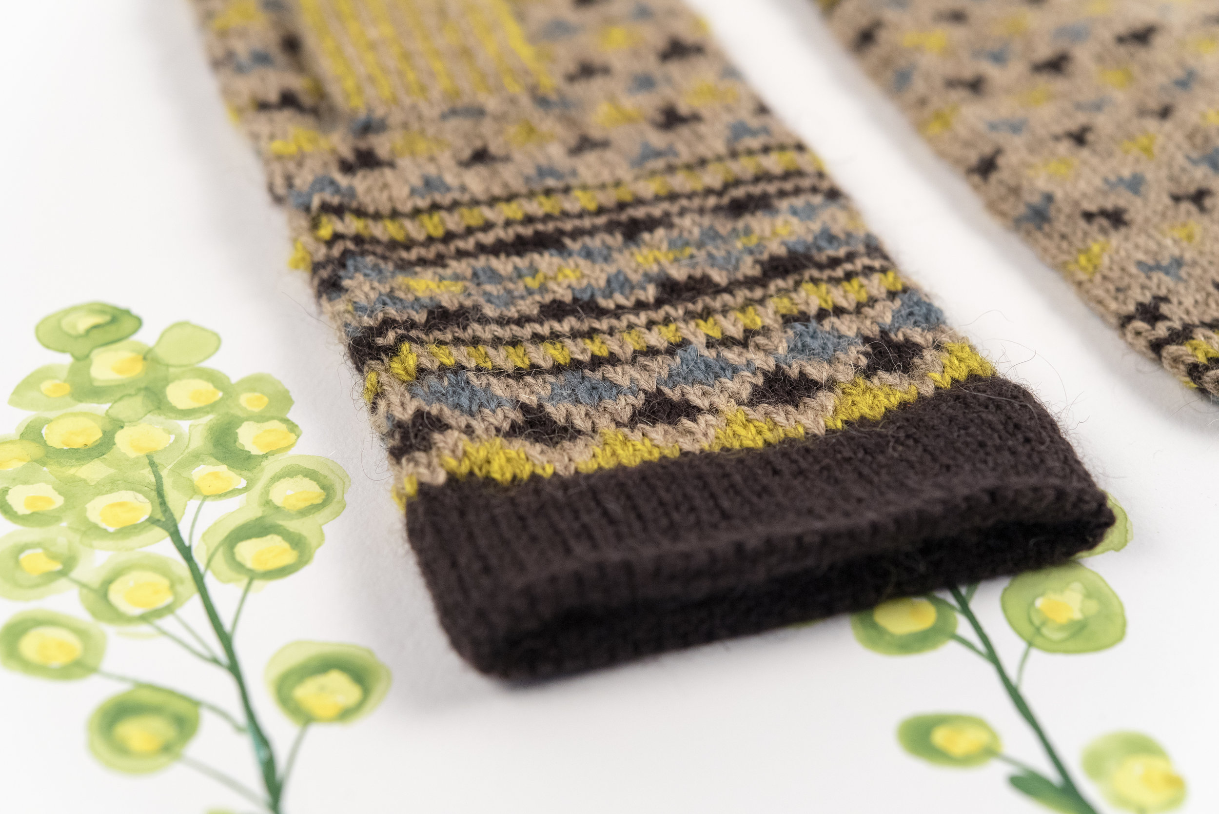 Kelbourne Woolens Year of Mittens June Mitten by Kate Gagnon Osborn