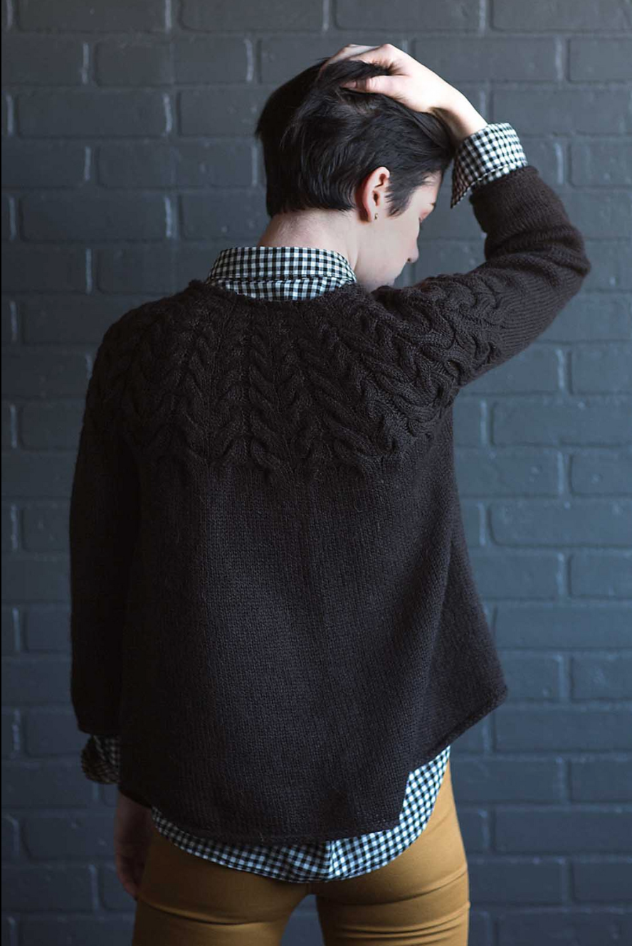 Angelina Pullover by Mary Anne Benedetto