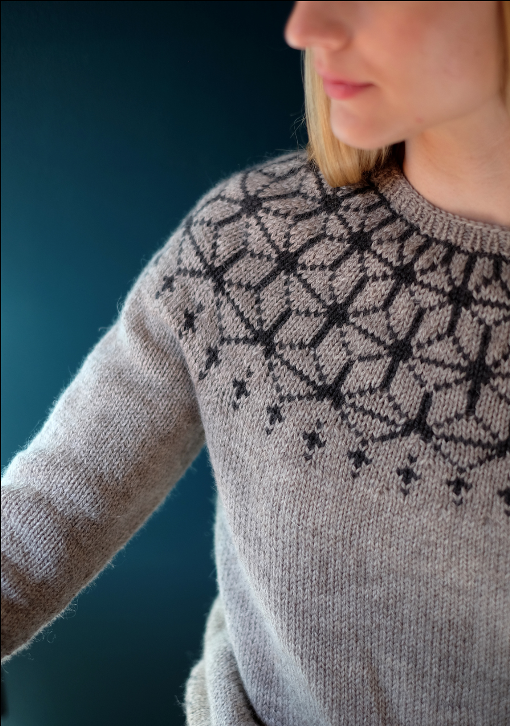 Tensho Pullover by Beatrice Perron Dahlen