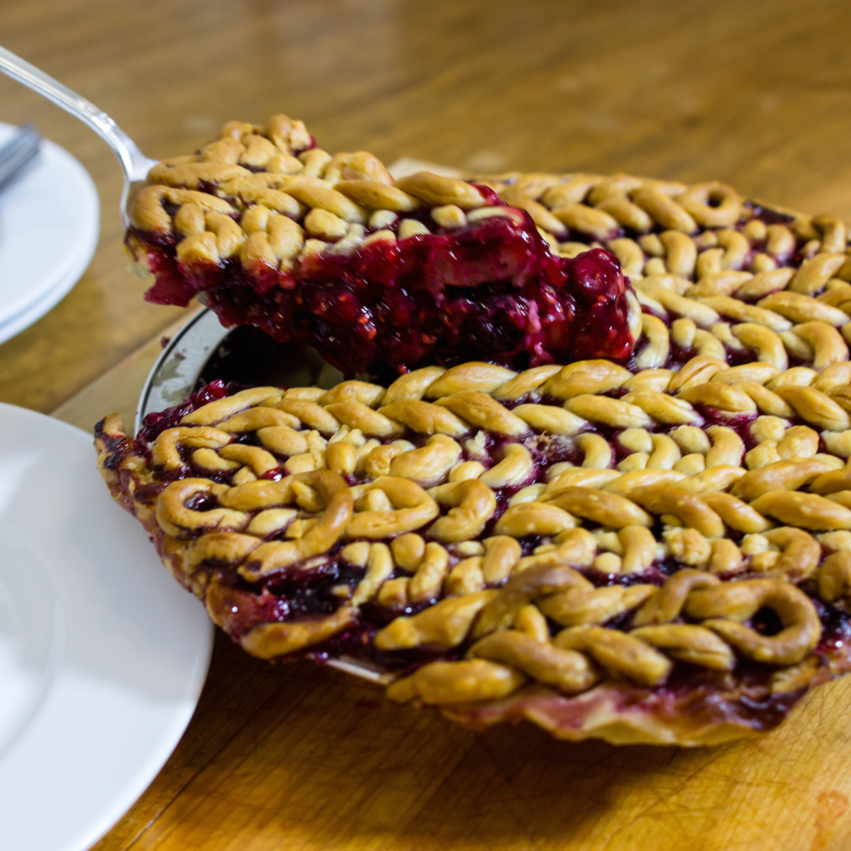 Knit pies by Lorna and Jill Watt