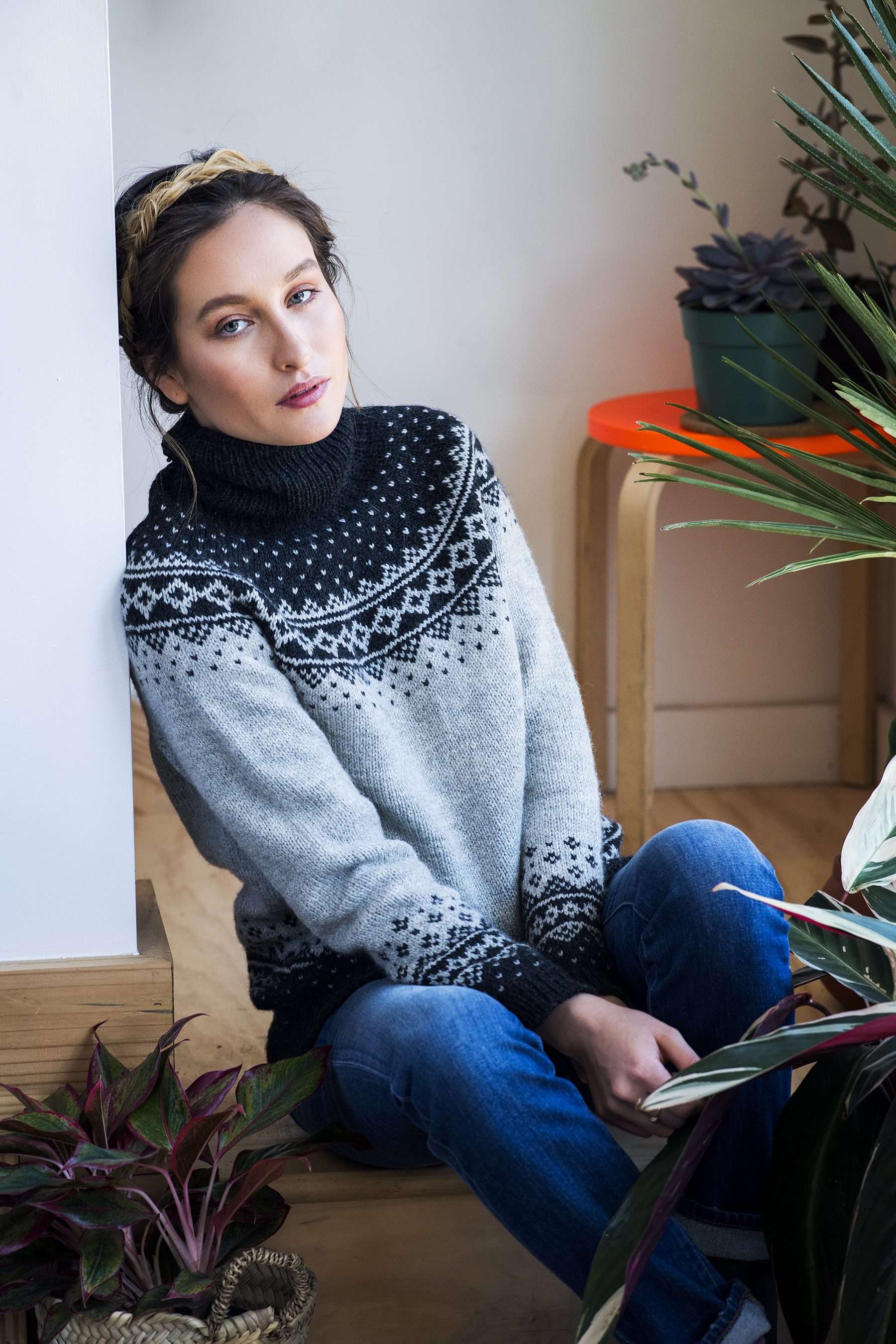 Rainier by Kate Gagnon Osborn in Kelbourne Woolens Scout