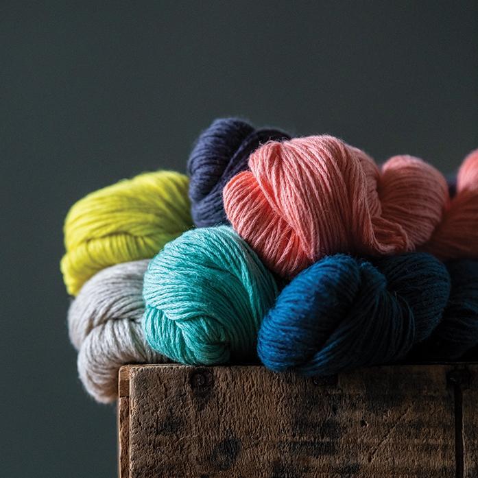 MOJAVE   60% cotton, 40% linen  185 yard / 50 gm skein
