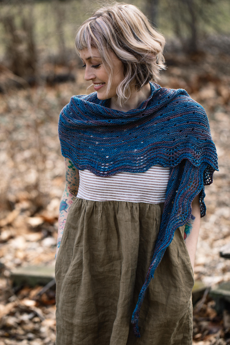 Ara Shawl by Andrea Mowry
