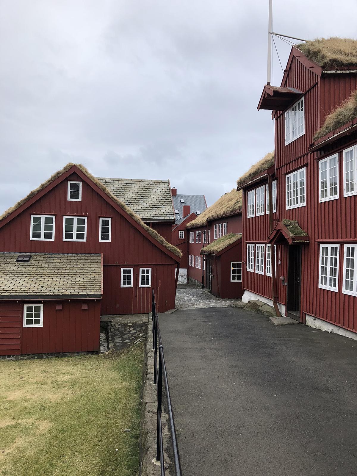 Tinganes in Tórshavn