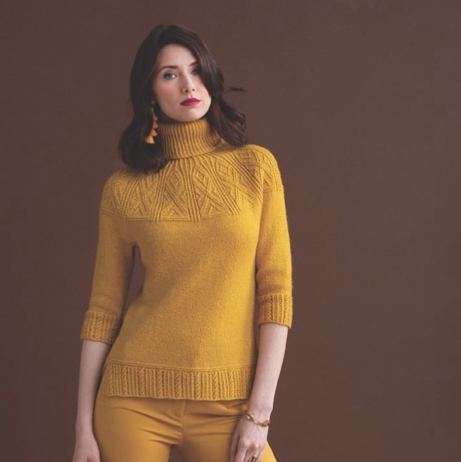 @norahgn for Vogue Knitting