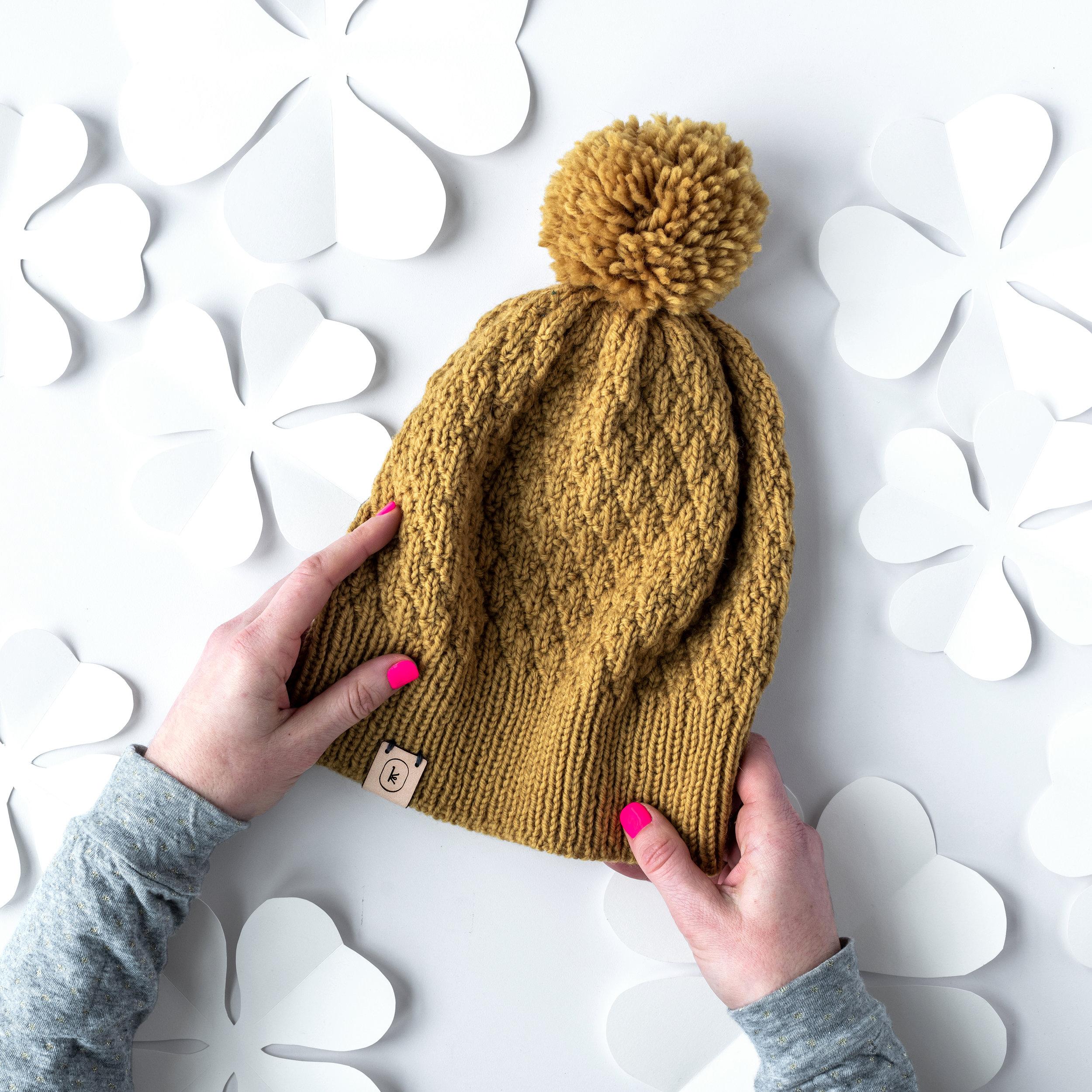 March Hat by Meghan Babin
